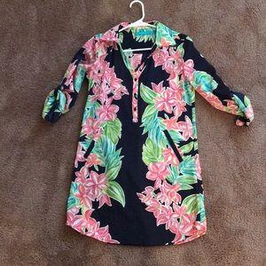 Tori Richard Hawaiian shirt dress. Never worn.